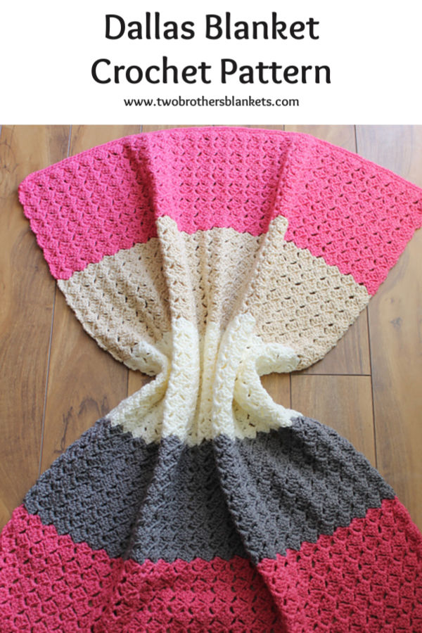 Dallas Blanket Crochet Pattern