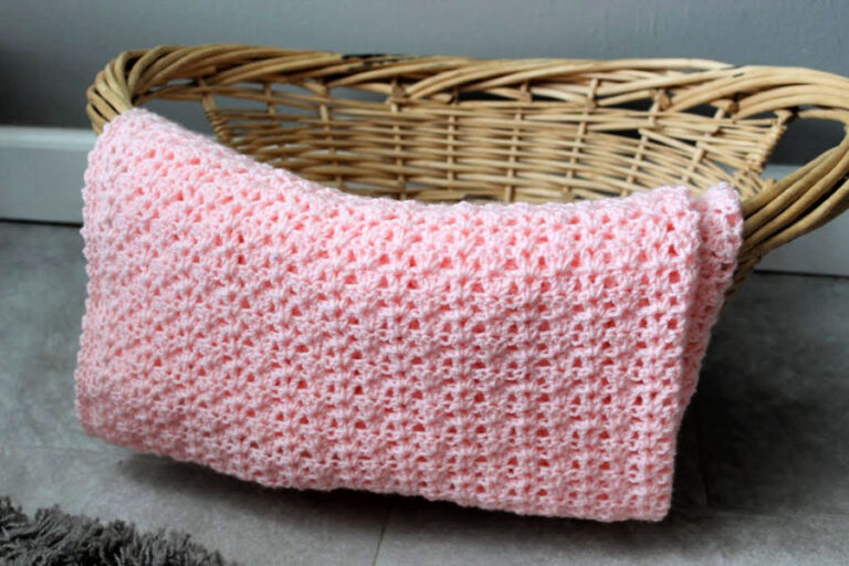 Crochet Baby Blanket Free Pattern – Katie Blanket