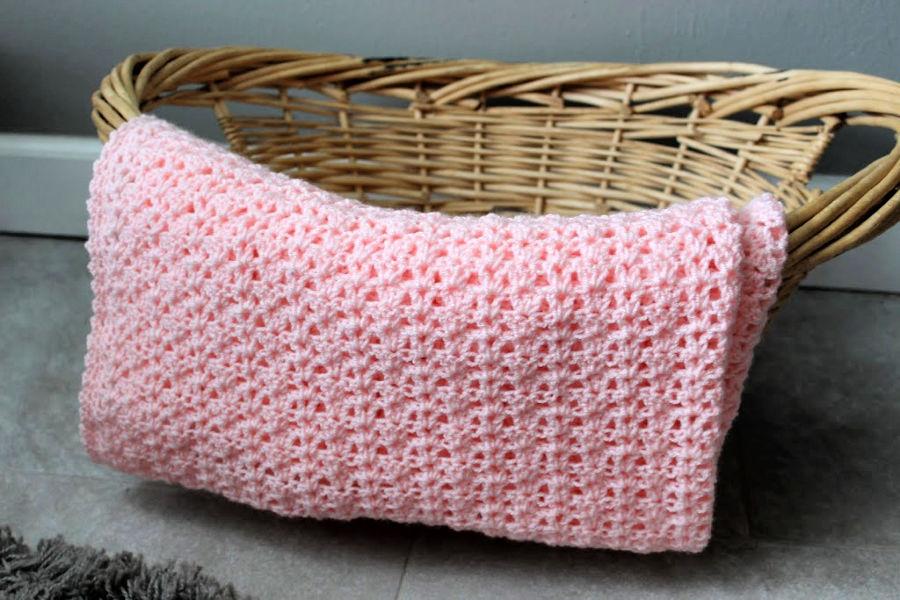 Katie Baby Blanket Free Crochet Pattern