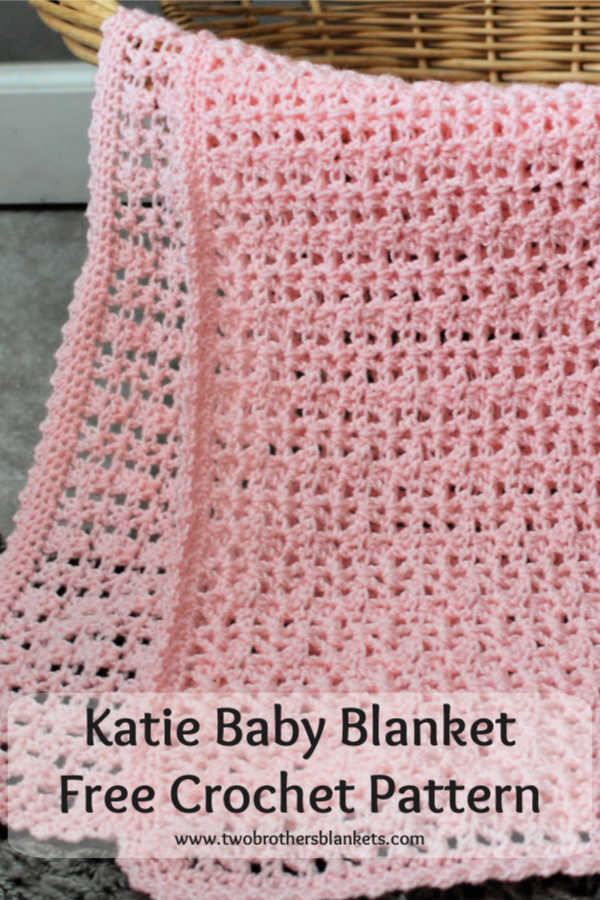 Katie Baby Blanket Free Crochet Pattern - Two Brothers Blankets