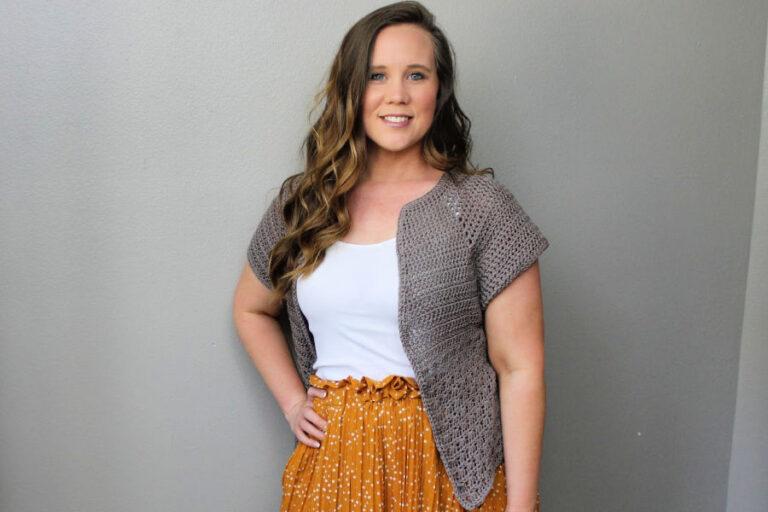 Grace Cardi Free Crochet Pattern