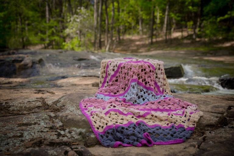 Serenity Blanket Free Crochet Pattern
