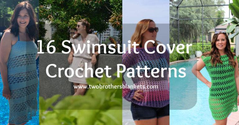 16 Swimsuit Cover Crochet Patterns