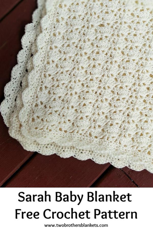 Sarah Baby Blanket Free Crochet Pattern