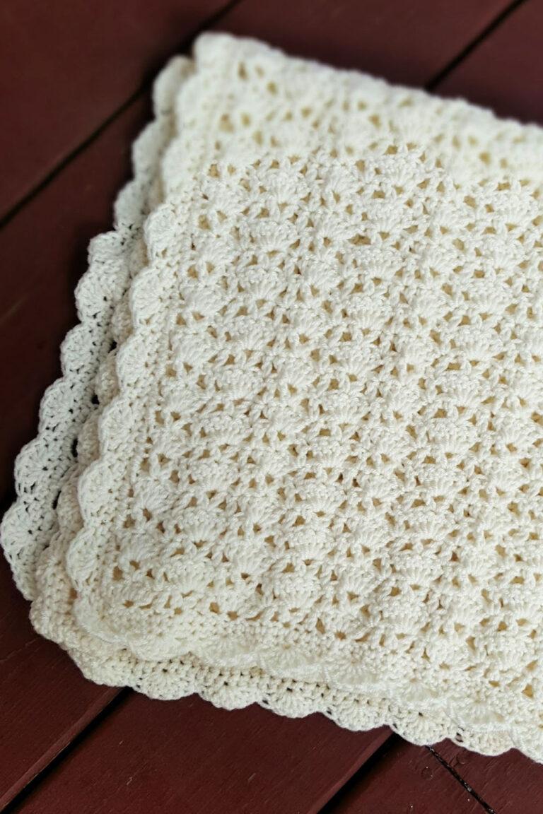 Vintage Crochet Baby Blanket Free Pattern – Sarah Blanket
