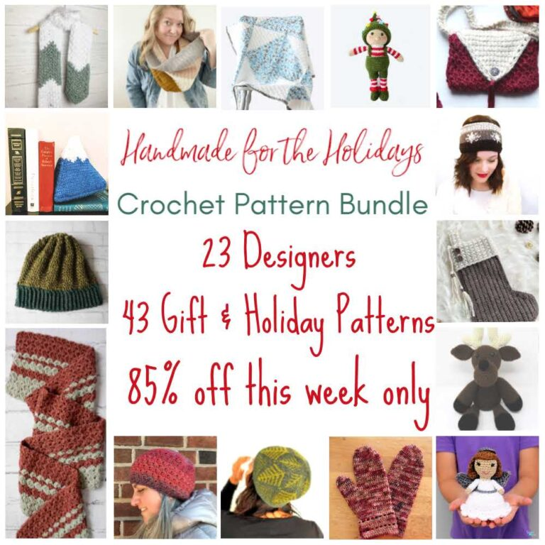 2020 Handmade for the Holidays Pattern Bundle!