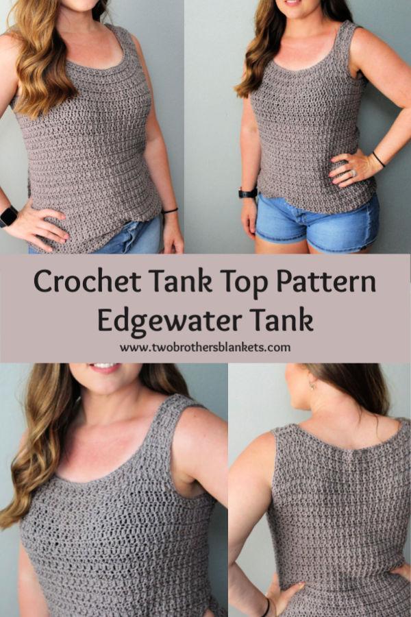Edgewater Tank Top Crochet Pattern