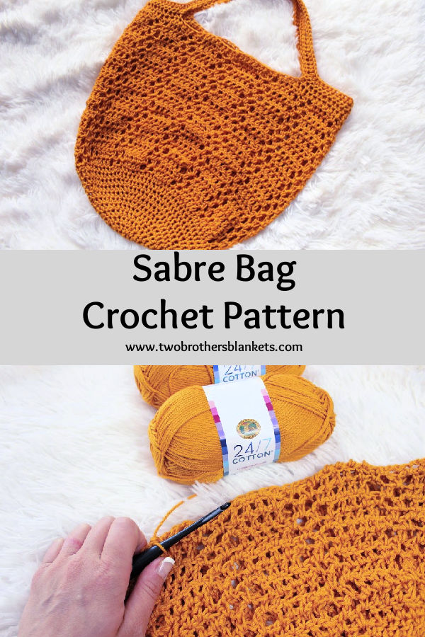 Sabre Bag Crochet Pattern