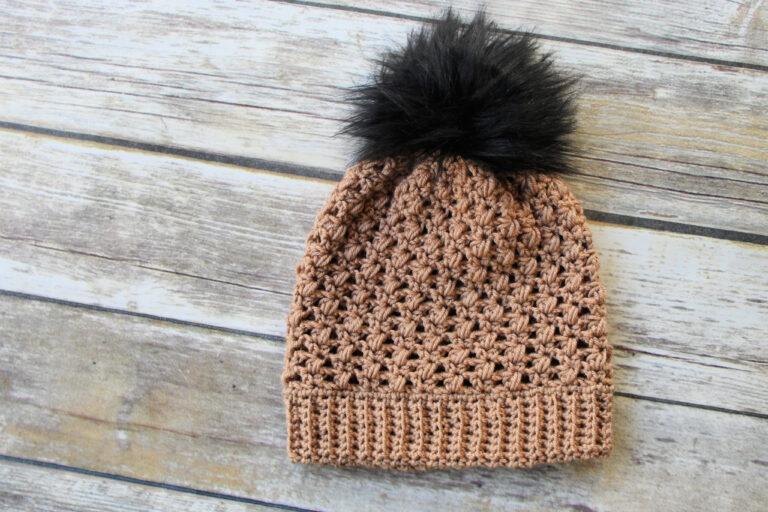 Fall Crochet Hat Pattern- Appleton Hat