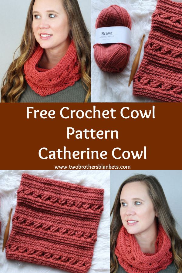 Free Crochet Cowl Pattern Catherine Cowl