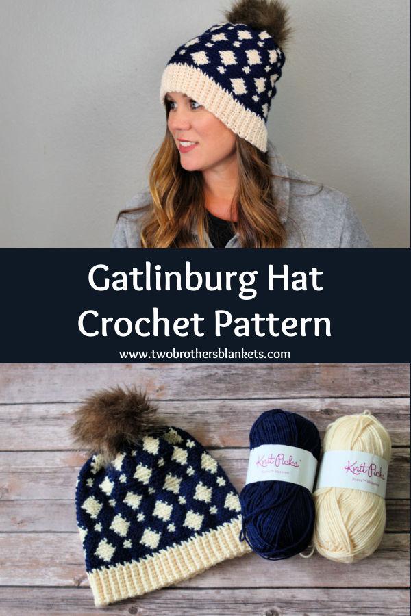 Gatlinburg Hat crochet pattern