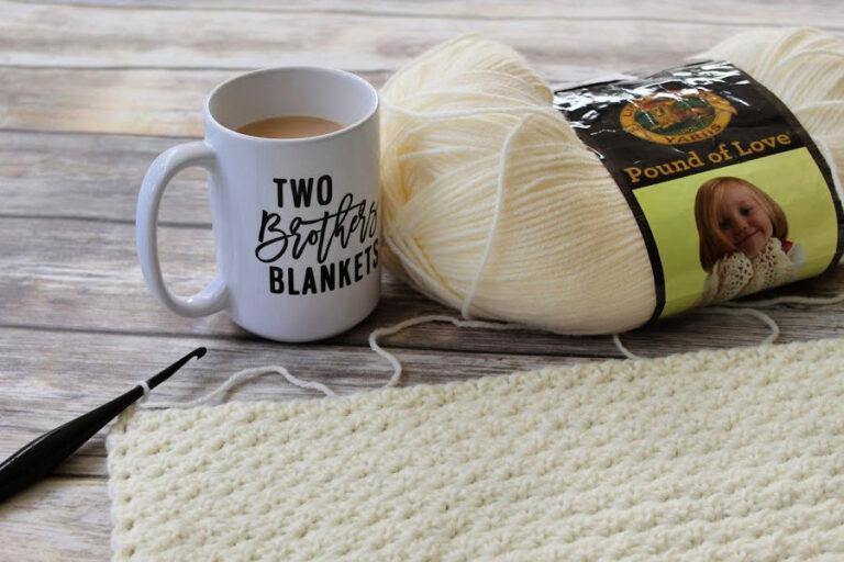 Crochet Lap Blanket Free Pattern – Ferguson Blanket