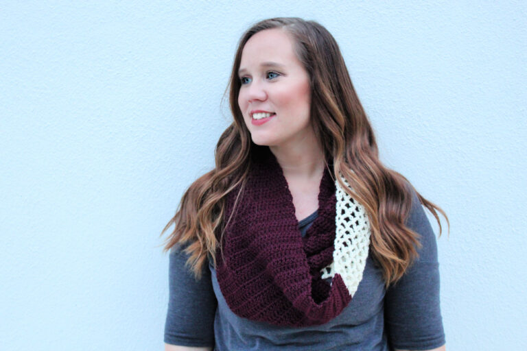 Free Crochet Infinity Scarf Pattern- Magnolia Scarf
