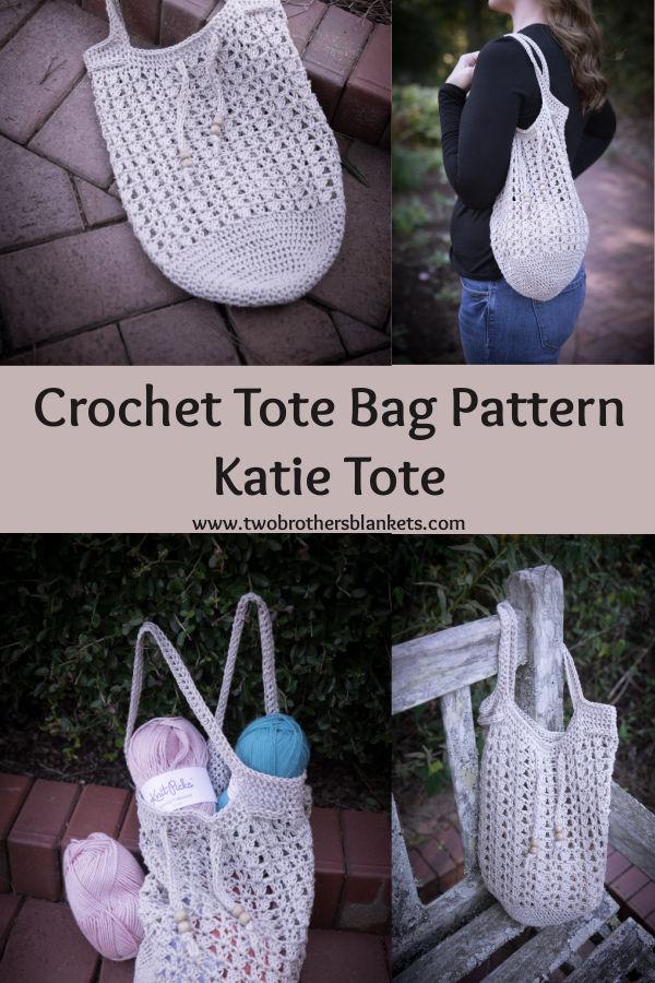 Crochet Tote Bag Pattern - Katie Tote