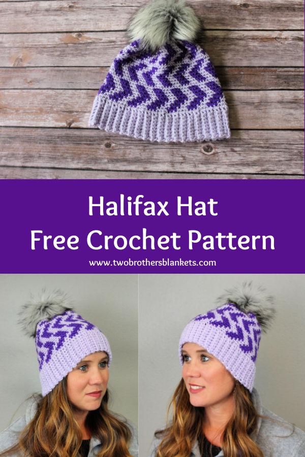 Halifax Hat Free Crochet Pattern
