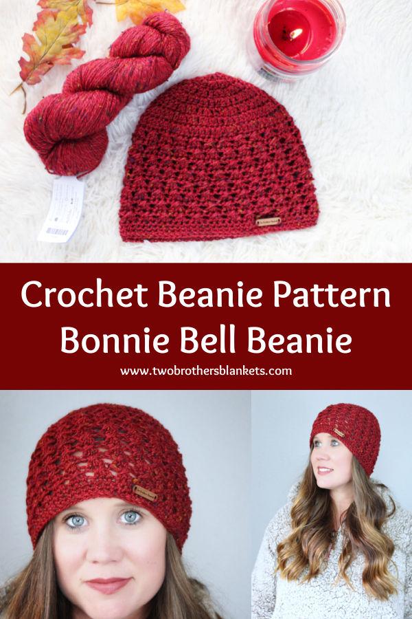 Crochet Beanie Pattern Bonnie Bell Beanie