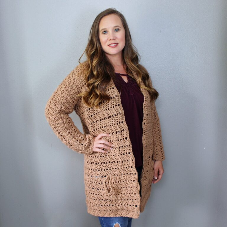 Crochet Cardigan Pattern- Chevy Cardigan