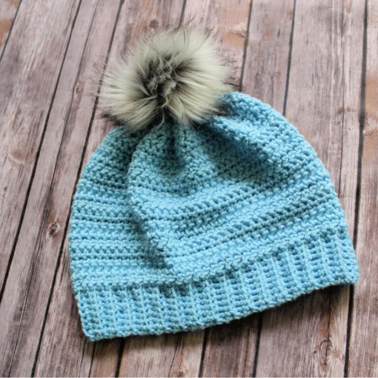 Hope Hat- Crochet Cancer Challenge 2020