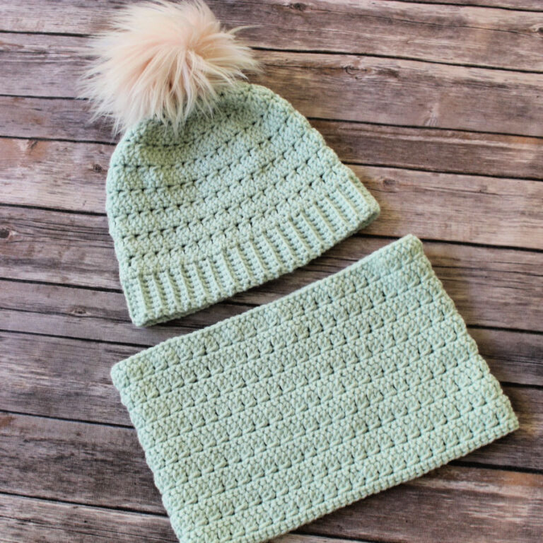 Rory Crochet Hat and Cowl Pattern Set