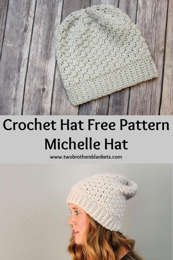 Crochet Hat Free Pattern - Michelle Hat