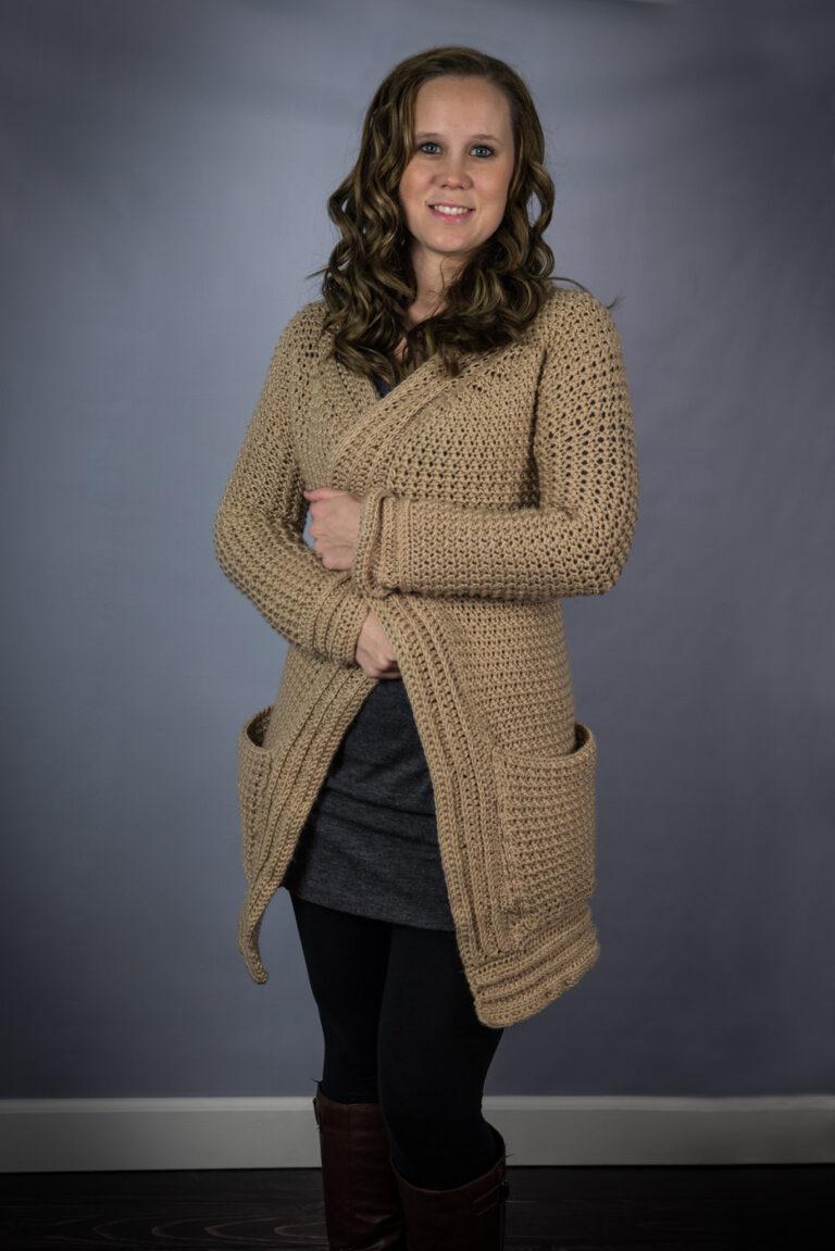 Crochet Cardigan Pattern- Kristen Cardigan