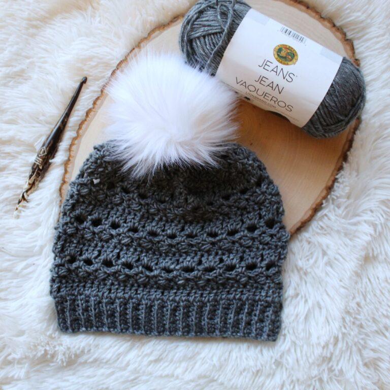 Crochet Hat Pattern – Brimstone Beanie