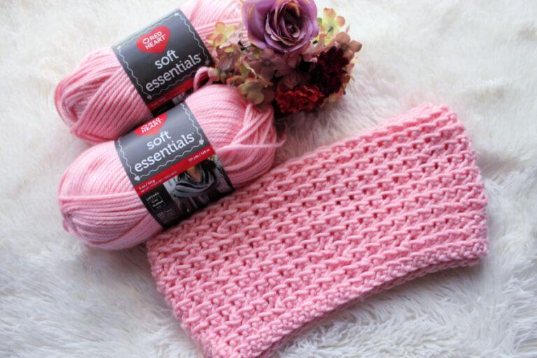 Crochet Infinity Scarf Free Pattern- KJ Scarf
