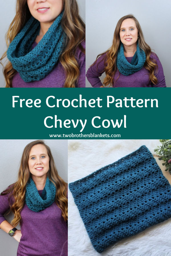 Free Crochet Pattern - Chevy Cowl- Two Brothers Blankets