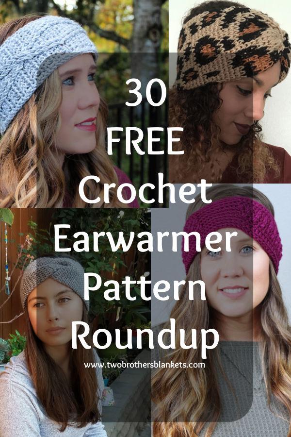 30 Free Crochet Earwarmer Patterns