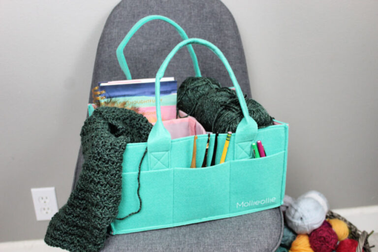 Storage Caddy for Crocheters- Mimmo Caddy