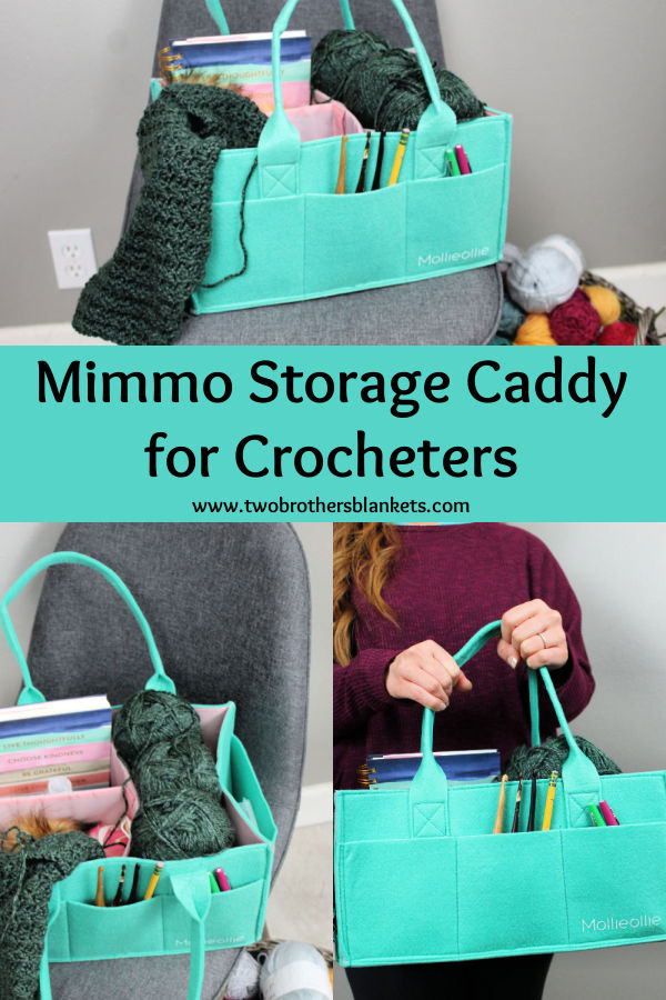 Mimmo Storage Caddy for Crocheters - Two Brothers Blankets