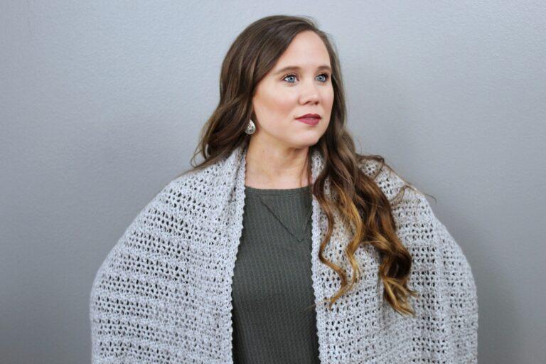 Free Crochet Wrap Pattern- Katie Wrap