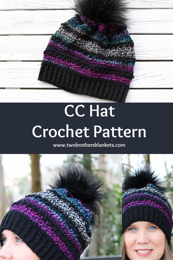 CC Hat Crochet Pattern- Two Brothers Blankets