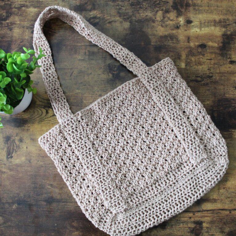 Crochet Tote Pattern- Michelle Tote