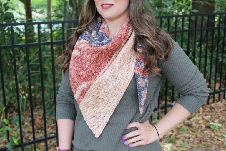 Free Crochet Shawl Pattern- Amara Shawl