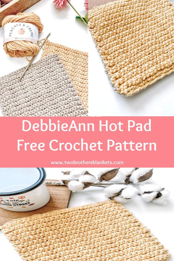 DebbieAnn Hot Pad Free Crochet Pattern - Two Brothers Blankets