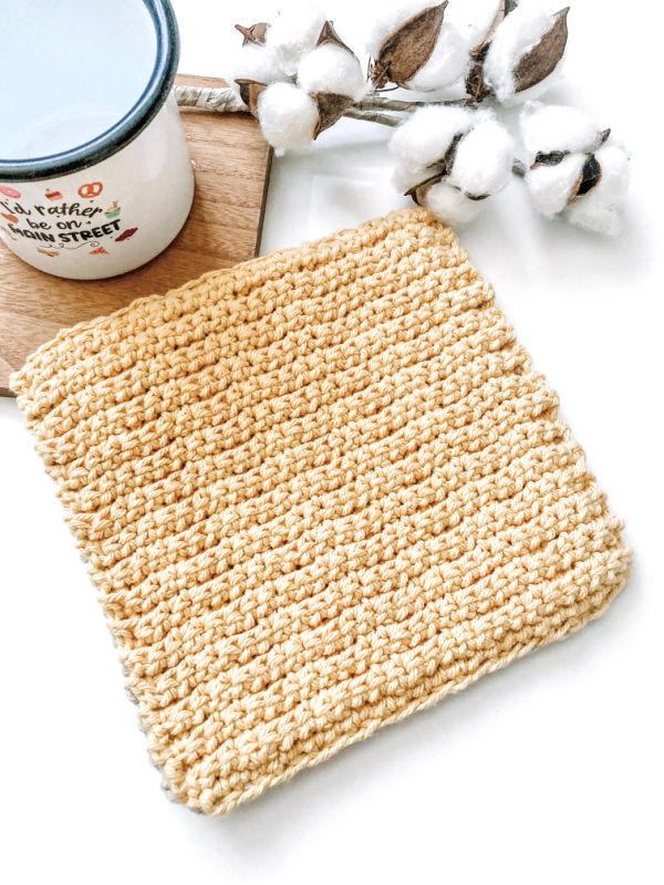 Free Crochet DebbieAnn Hot Pad Pattern