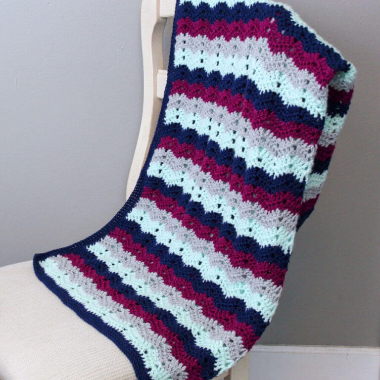 Chevy Crochet Blanket Free Pattern