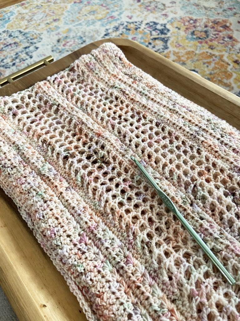 Free Infinity Scarf Crochet Pattern- Summer Nights