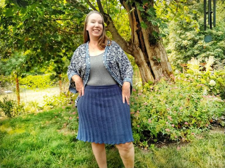 Free Crochet Skirt Pattern- Paz Skirt