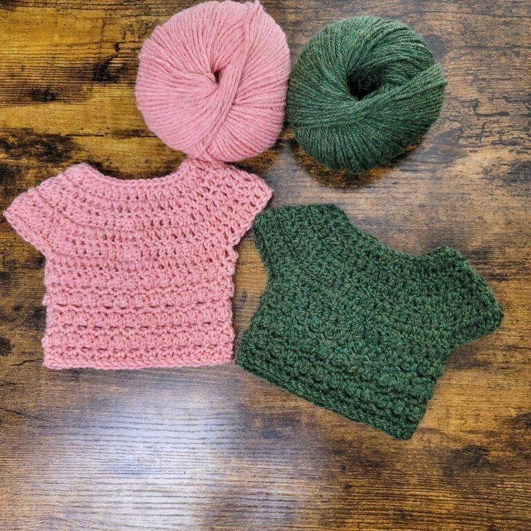 Free Crochet Baby Sweater Pattern – Little Textures Sweater
