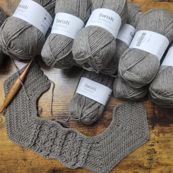 Superwash Wool- Swish DK – Yarn Review